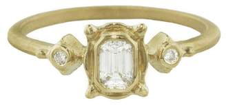 Megan Thorne Picture Frame Cherie Ring - Yellow Gold