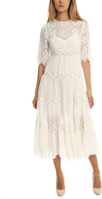 Zimmermann Oleander Diamond Lace Dress