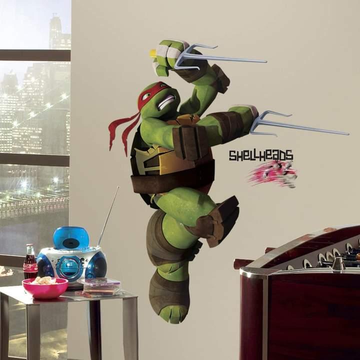 Roommates Teenage Mutant Ninja Turtles Raphael Peel & Stick Wall Decal