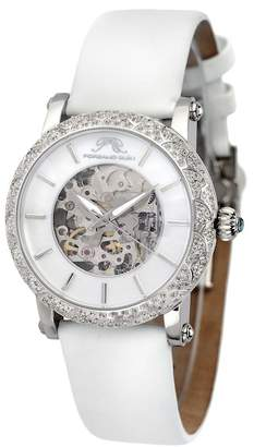 Porsamo Bleu Women's Liza Topaz Stone Automatic Watch, 38mm x 44mm