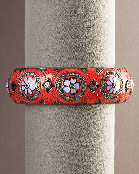 MCL by Matthew Campbell Laurenza Flower Bangle