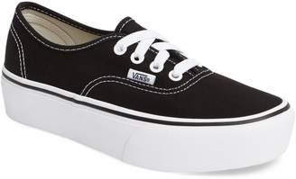 Vans 'Authentic' Platform Sneaker