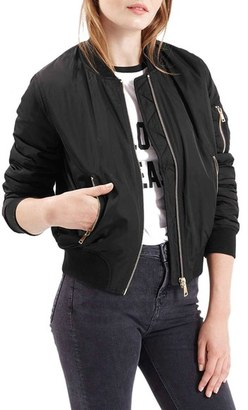 Topshop MA1 Bomber Jacket $60 thestylecure.com
