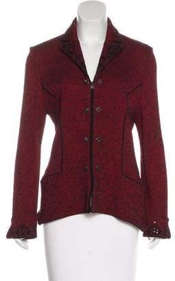 Couture St. John Tweed Bouclé Blazer