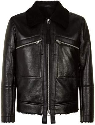 Tom Ford Leather Shearling Jacket