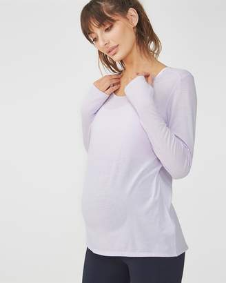 Maternity Long Sleeve Sports Top
