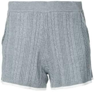 GUILD PRIME contrast trim shorts