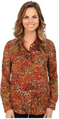 KUT from the Kloth Nora Top Women's Long Sleeve Button Up
