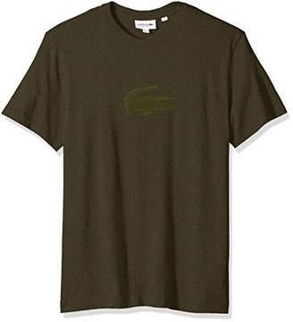 Lacoste Men's Short Sleeve REG FIT Velvet Croc TEE