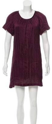 Richard Chai Short Sleeve Mini Dress