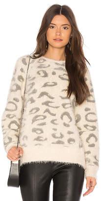 Callahan Snow Leopard Sweater