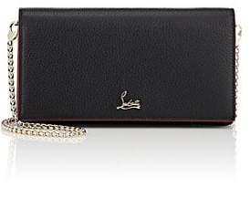 Christian Louboutin Women's Boudoir Leather Chain Wallet - Black