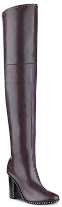 Sigerson Morrison Women's Mars Leather Over-the-Knee Boots