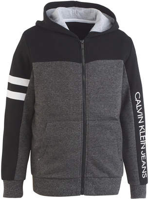 Calvin Klein Big Boys Full-Zip Hooded Sweatshirt