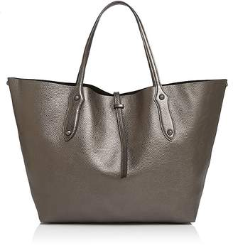 Isabella Collection Annabel Ingall Large Metallic Leather Tote