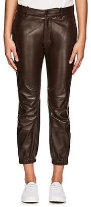 Nili Lotan Women's Leather French Military Pants