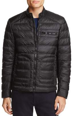 Belstaff Halewood Quilted Down Jacket $495 thestylecure.com