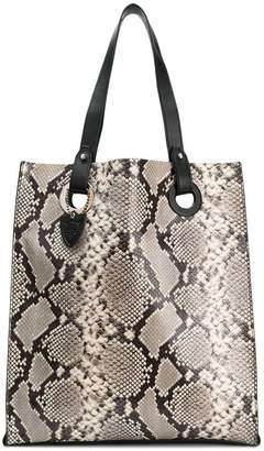Free Shipping At Farfetch Htc Los Angeles Snake Print Tote Bag