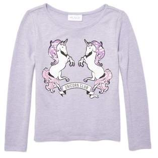 Children's Place The Unicorn Sweater Knit Top