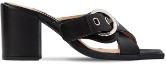 Aalto 80mm Chunky Leather Sandals