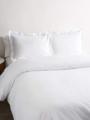 Melange Home Plain Hem Organic Cotton Duvet Set