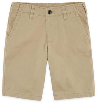 Arizona Flex Chino Short Boys 4-20, Slim & Husky