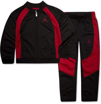Jordan 2-Pc. Colorblocked Active Jacket & Pants Set, Little Boys
