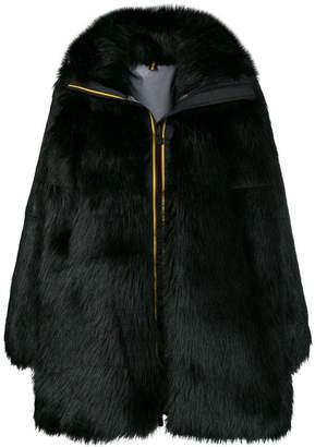 Faith Connexion zipped up fur coat