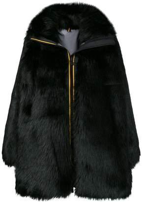 Faith Connexion zipped up fur coat