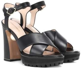 Nicholas Kirkwood Annabel Pearl leather sandals