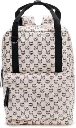 Steve Madden Nyc NYC Printed Cat Backpack