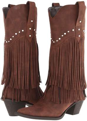 Roper 12 Stud and Fringe Boot Cowboy Boots