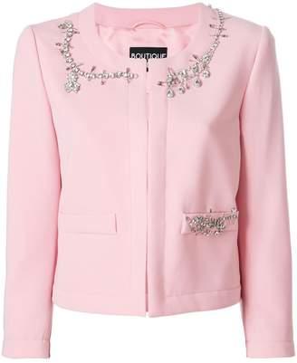 Moschino crystal embellished jacket