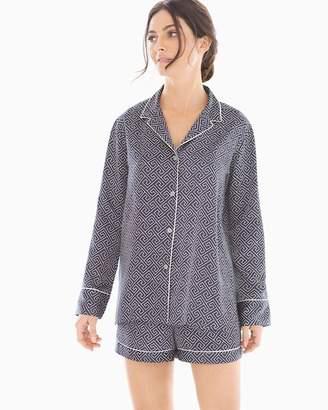 Natori Labyrinth Shorts Pajama Set