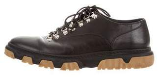 Christian Dior Leather Derby Shoes