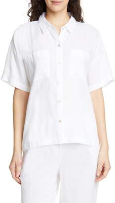 Eileen Fisher Organic Linen Shirt