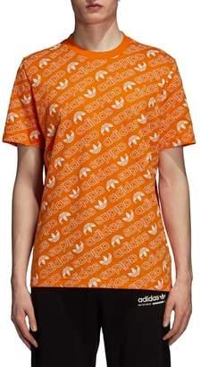 adidas Monogram Allover Print T-Shirt