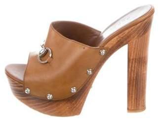 Gucci Horsebit Slide Sandals silver Horsebit Slide Sandals
