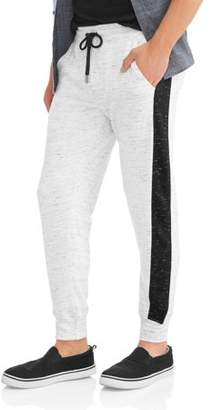 LAZER Men's Terry Jogger with Side Stripe