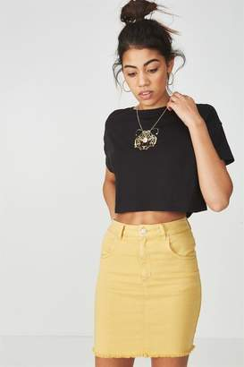 Supra The Charmed Mini Denim Skirt