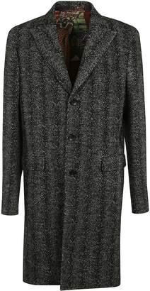 Etro Single Breasted Coat