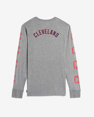 Express Cleveland Indians Long Sleeve Tee