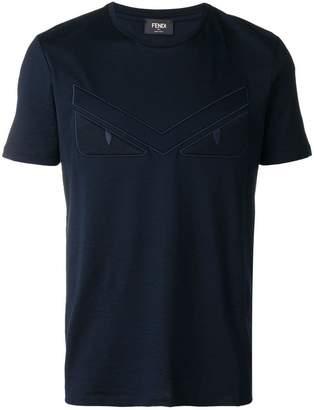 Fendi embroidered logo T-shirt