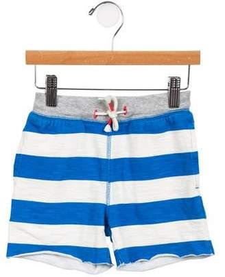 Boden Mini Boys' Striped Knit Shorts