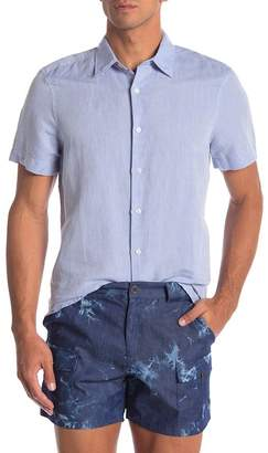Perry Ellis Linen Blend Regular Fit Shirt