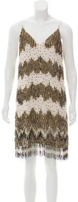 Alice + Olivia Embellished Knee-Length Dress w/ Tags