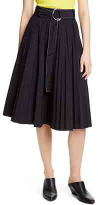 Proenza Schouler PSWL Belted Parachute Skirt