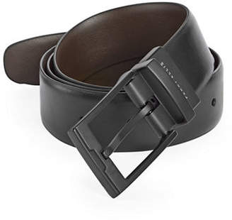 Perry Ellis Reversible Smooth Leather Belt