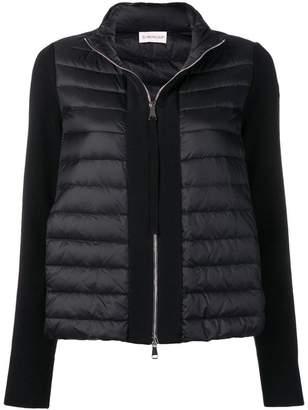 Moncler full zip puffer jacket