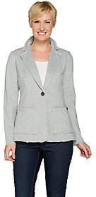 Peace Love World French Terry Knit Blazer